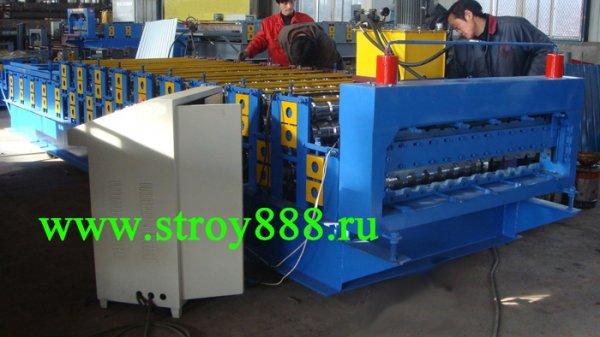 Оборудование для производства профнастила C10 и HC44,Китай 2018