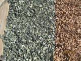 Щебень, крошка породы серпентинит (змеевик)