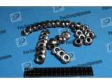 Шлицевая, Гайка , сталь 12х18н10т, высокопрочная, ГОСТ 8530-90, ГОСТ 11871-88, шлицевая