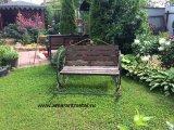 Скамейка для сада - качалка