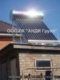 Солнечный коллектор ДАЧА-ЭКОНОМ XF-II-15-125 система без давления бак 125л окрашенный