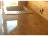 Столешницы для ванных комнат из искусственного камня агломерата