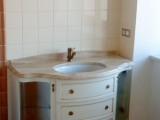 Столешницы для ванных комнат из мрамора