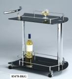 Столик сервировочный (стекло)