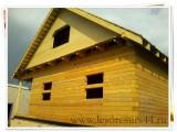 Строим дачи из профилированного бруса