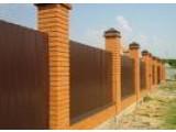 Строительство заборов из профнастила в Чехове, в Чеховском районе!