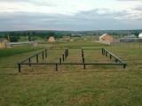 СВСН-57/200/2000 свая применяется для заборов оград, так же держит нагрузку до 500 кг.