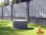 Технология монтажа забора из блоков Рубленый Камень (ООО 4ый Бастион)