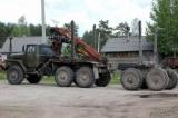 услуги урала-лесовоза с краном манипулятором в Калязинском и соседних районах