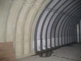 Утепление пенополиуретаном ангаров, киосков, гаражей от 30 мм до 150 мм