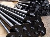 Винтовая Свая усиленная диаметр ствола 73мм, длинна сваи 2350мм, толщина стенки ствола - 5,5мм, диаметр лопасти 250мм.
