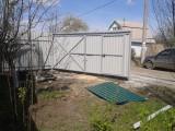 Ворота из профнастила в Челябинске