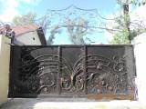 Ворота кованые откатные автоматика