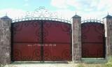 ворота с элементами ковки (1 кат. сложности)