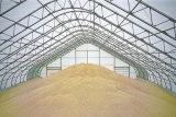 Зернохранилище каркасно-тентовое