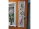 """Жидкие обои с эффектом 3D """"Орхидея"""" в готовом виде. Продаются гипсовые формы от 10 до 50 руб."""